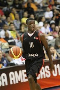 Myck Kabongo at the U18 FIBA Americas Championship for Men